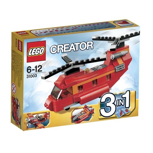 31003 lego creator грузовой вертолёт лего 31003